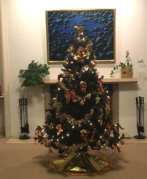 大使公邸のクリスマスツリー